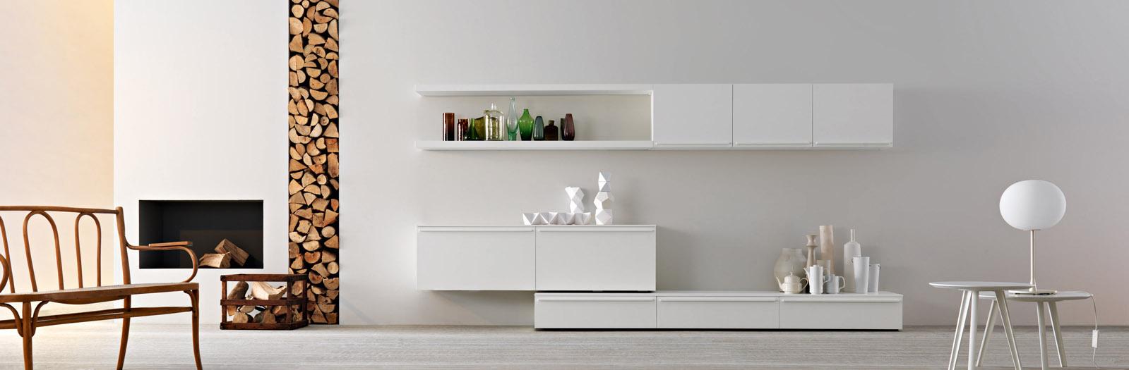 Best Soggiorno Moderno Bianco Contemporary - House Design Ideas 2018 ...